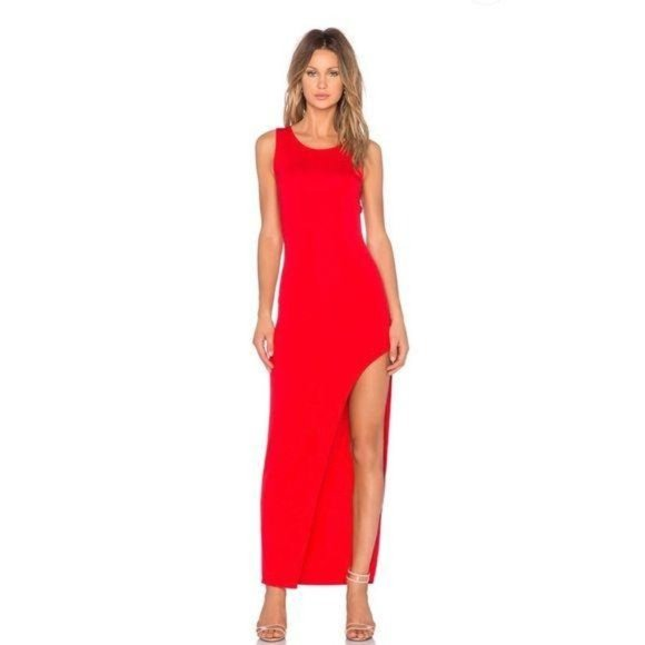 Lovers + Friends  Revolve Passion Dress in Red Sma